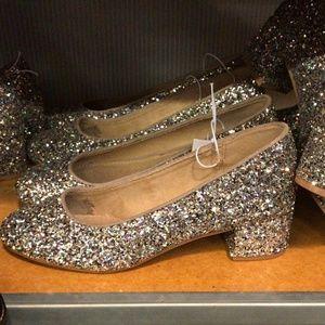 Glitter heels ON